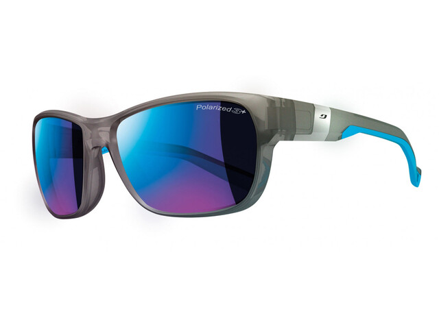 Julbo Coast Polarized 3+ Glasses Matt Translu Grey/Cyan Blue